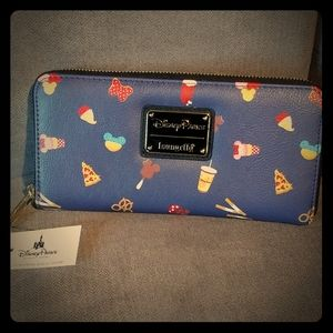 Disney Parks Loungefly iconic park treats wallet